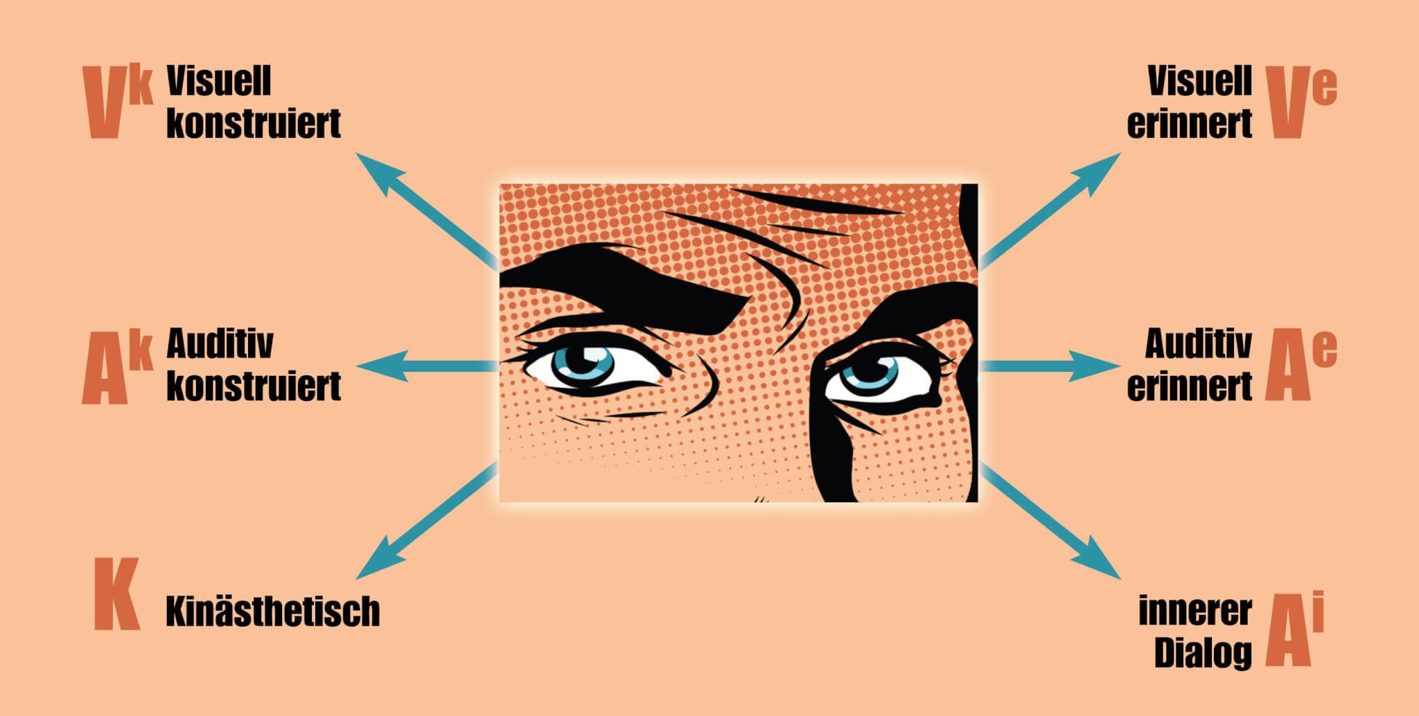 Augenzugangshinweise, Wahrnehmungsfilter
